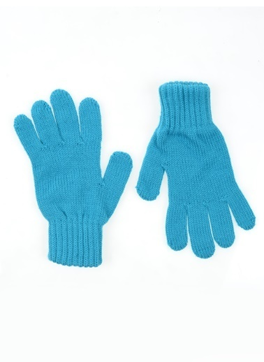 Bay Şapkacı Eldiven Mavi